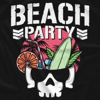 Bullet Club Beach Party (White Text)