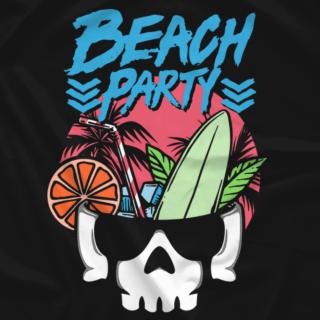 Bullet Club Beach Party (Blue Text)