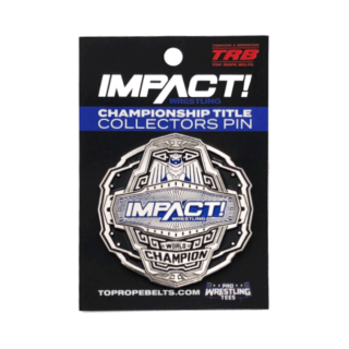 Impact Wrestling Collectors Pin: World Champion