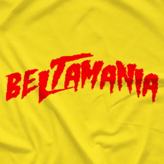 BeltAMania Brother 80s Yellow