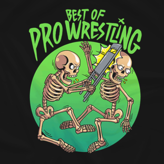 Best of Pro Wrestling Chairshot Logo Tee