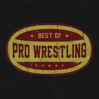 Best of Pro Wrestling Oval Logo T-Shirt