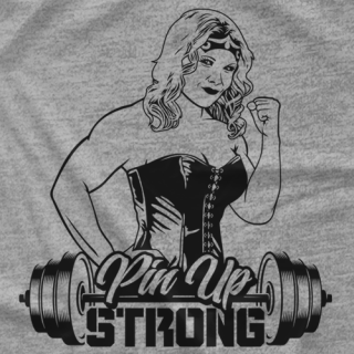 Pin Up Strong Portrait