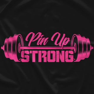 Pin Up Strong (Black)