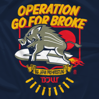 Operation Go For Broke (Double-Sided)
