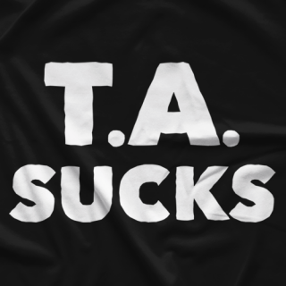 Big Time Wrestling T.A. Sucks T-shirt