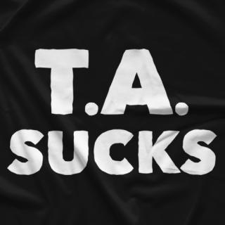 Big Time Wrestling T.A. Sucks T-shirt