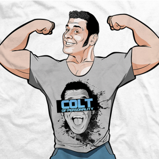 Colt Cabana Billboard Superstar T-shirt