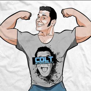 Colt Cabana Billboard Superstar T-shirt