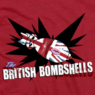 British Bombshells Red