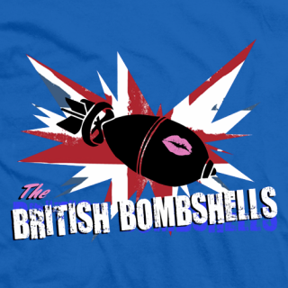 British Bombshells Blue