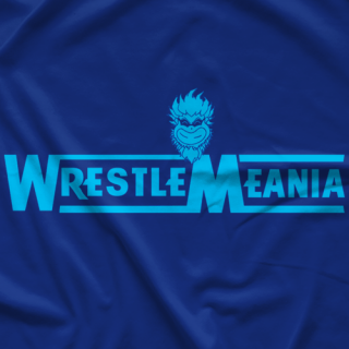 Blue Meanie WrestleMeania T-shirt