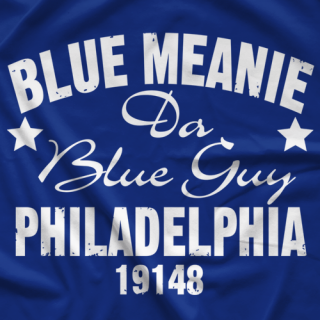Blue Meanie Meanie Vintage Fight T-shirt