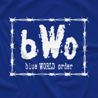 Barbed Wire bWo (Blue)