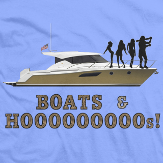Boats and Hooooooos T-shirt