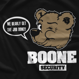 Boone Security T-shirt