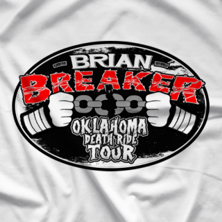 Brian Breaker Death Ride Tour T-shirt