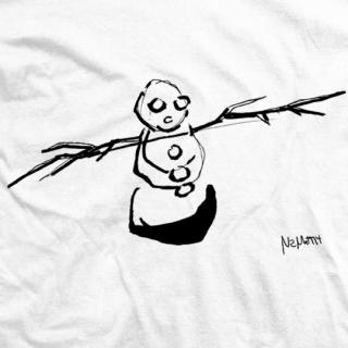 Snowman - White