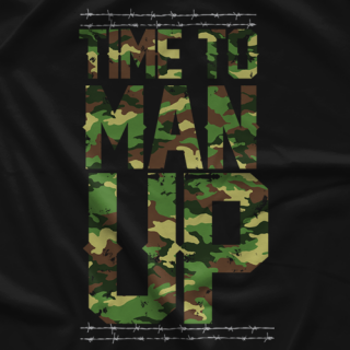 Briscoe Brothers Man Up T-shirt