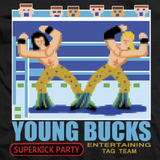 Young Bucks Video Game T-shirt