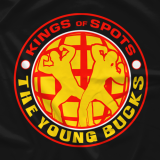 Young Bucks King Of Spots T-shirt