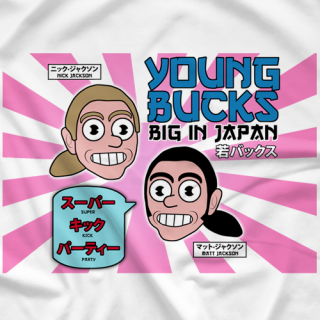 Young Bucks Big In Japan T-shirt
