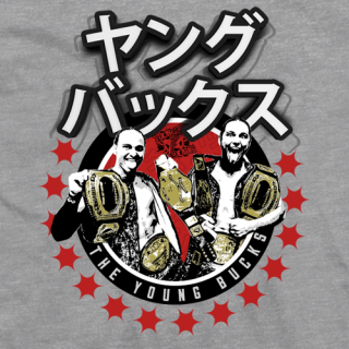 Young Bucks Champions T-shirt