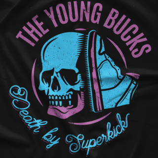 Young Bucks Death By Superkick T-shirt