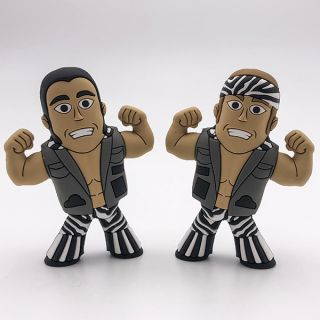 Young Bucks (Variant) Micro Brawler Figures (2 Pack)