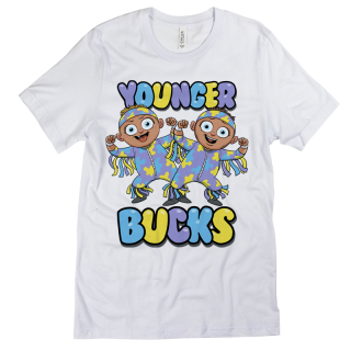 Young Bucks – Babyface Adult Soft Style T-Shirt (Avail in 2 colors)