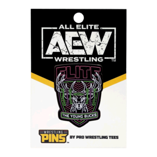 The Young Bucks - Neon Wrestling Pin