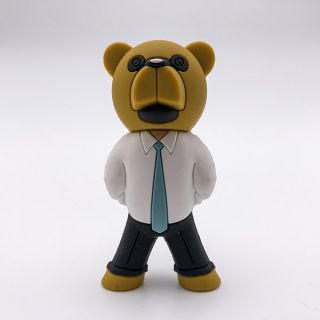 Burnard The Business Bear Micro Brawler Figure