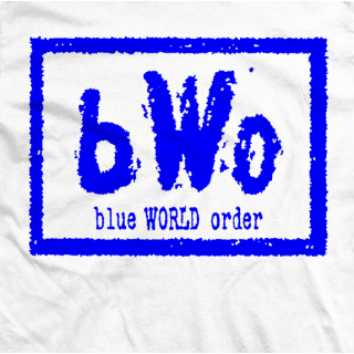 Blue World Order T-shirt