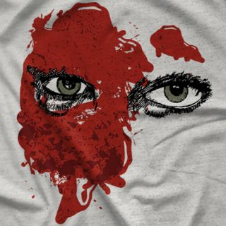 "- Clotheslined Apparel - Vintage Blend Soft T-shirt Candice LeRae ""Blood"""