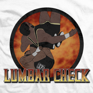Lumbar Check T-shirt
