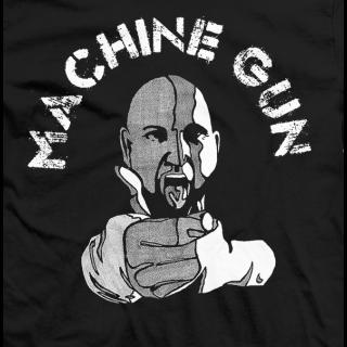 Machine Gun Caricature T-shirt