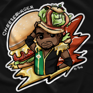 Cheeseburger King Cheesie T-shirt