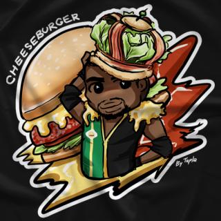 Cheeseburger King Cheesie T-shirt