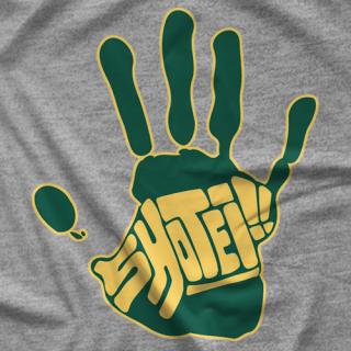 Cheeseburger Shotei Handprint T-shirt