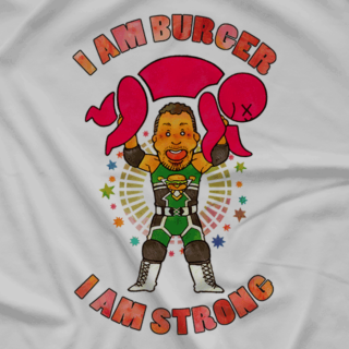 Cheeseburger is Strong (Available In 2 Colors!)