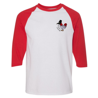 Chicken Wing Baseball Tee