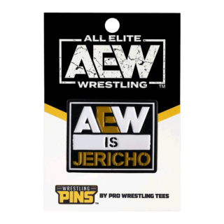 Chris Jericho - AEW is Jericho Wrestling Pin