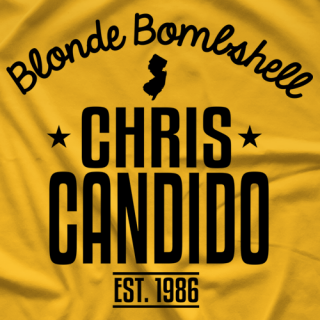 Chris Candido Candido Retro T-shirt