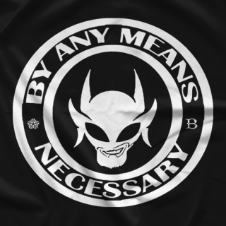 Chris Cayden Any Means Necessary T-shirt
