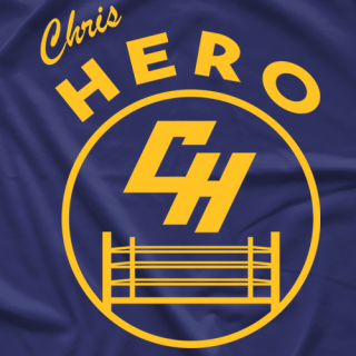 Chris Hero Warriors - Cobalt T-shirt