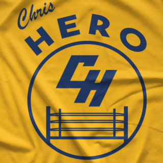 Chris Hero Warriors - Gold T-shirt