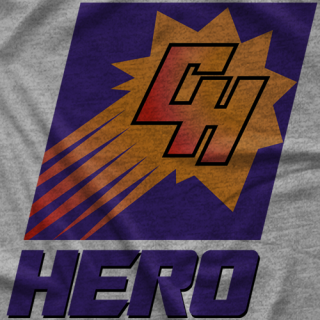 Chris Hero Hero Suns T-shirt