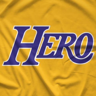 Chris Hero LA Hero (Gold) T-shirt