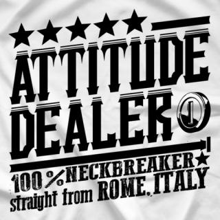 Chris Steel Attitude Dealer T-shirt