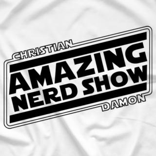 Amazing Nerd Show Logo! (B&W Edition)